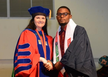 AUN Exceeds my Expectations, says Samuel Akor from Cameroon