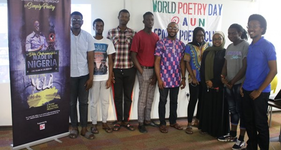AUN Poetry Club promotes Self-expression - American
