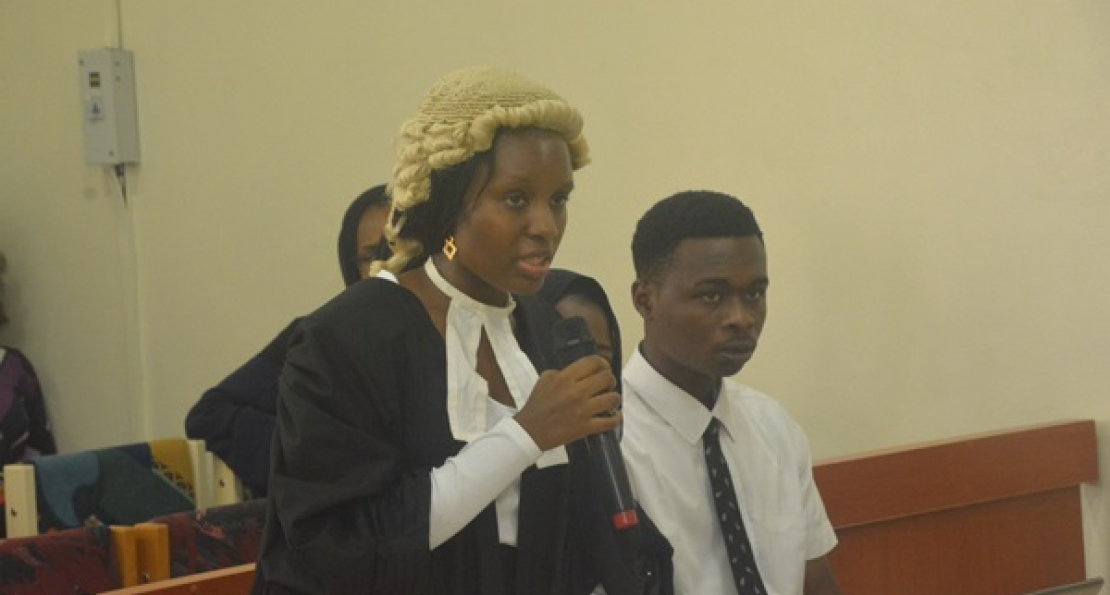 School of Law Holds Second Moot Court Session