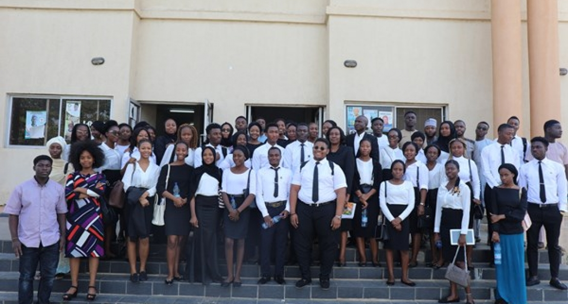 Law Students Visit Upper Area Court