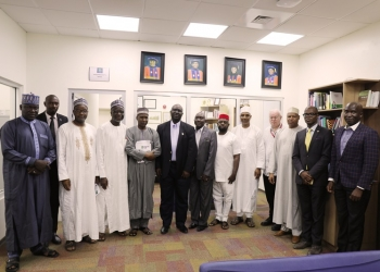 Federal University Dutsin-Ma Delegation Visits AUN