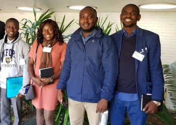 Four Graduate Students Represent AUN at Oxford Varsity Conference