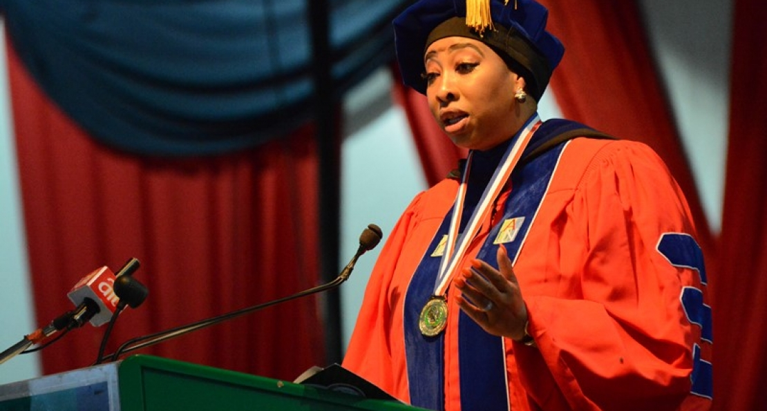 Commencement Speaker to AUN Graduates: Claim Your Place in Nation-building