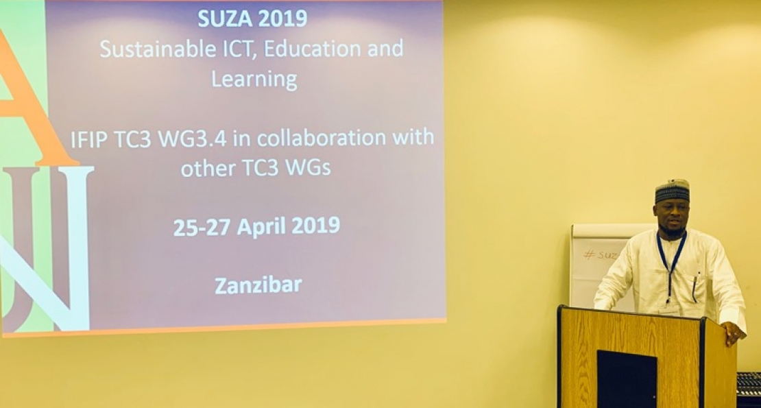 Doctoral Candidate, Nas Yakubu, Presents Paper at Tanzania Conference