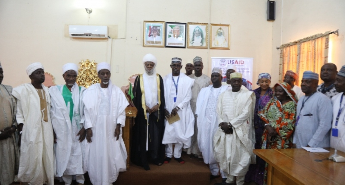 Lamido Adamawa Receives Girl Child Education Advocacy Team from AUN