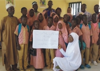 AUN Corps Member Creates Digital Literacy Club for IDPs
