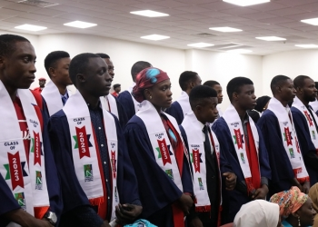 Spring 2020 class commit to AUN Community Pledge